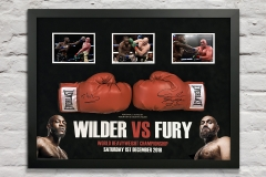 Wilder vs Fury Display
