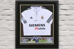 Framed Football Shirt 10