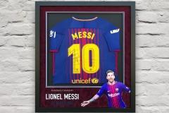 Framed Football Shirt 11