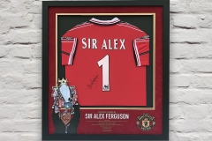 Framed Football Shirt 13