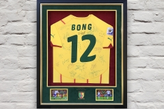 Framed Football Shirt 14