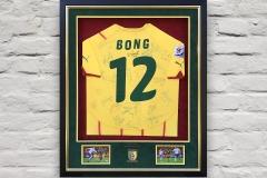 Framed Football Shirt 14