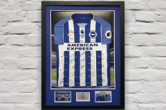 Framed Football Shirt 16