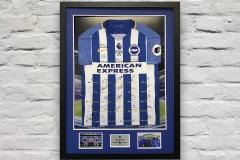 Framed Football Shirt 16