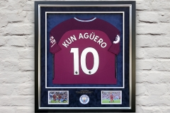 Framed Football Shirt 17