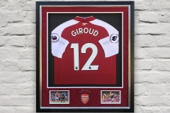 Framed Football Shirt 18