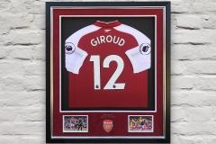 Framed Football Shirt 18