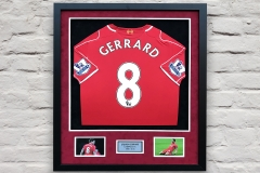 Framed Football Shirt 2