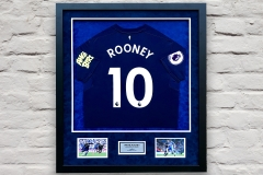 Framed Football Shirt 3