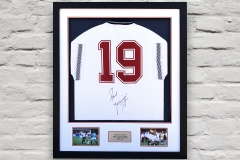 Framed Football Shirt 7