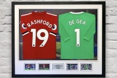 Framed Football Shirt 8