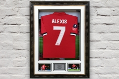 Framed Football Shirt 9