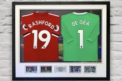 Framed Football Shirt 8