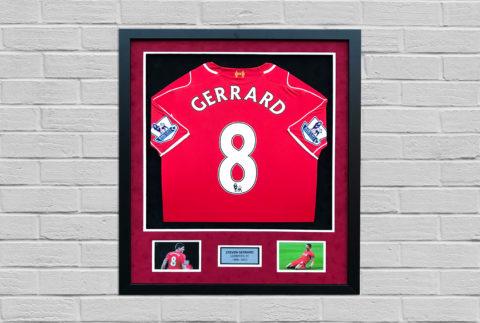 Steven Gerrard Signed Shirt