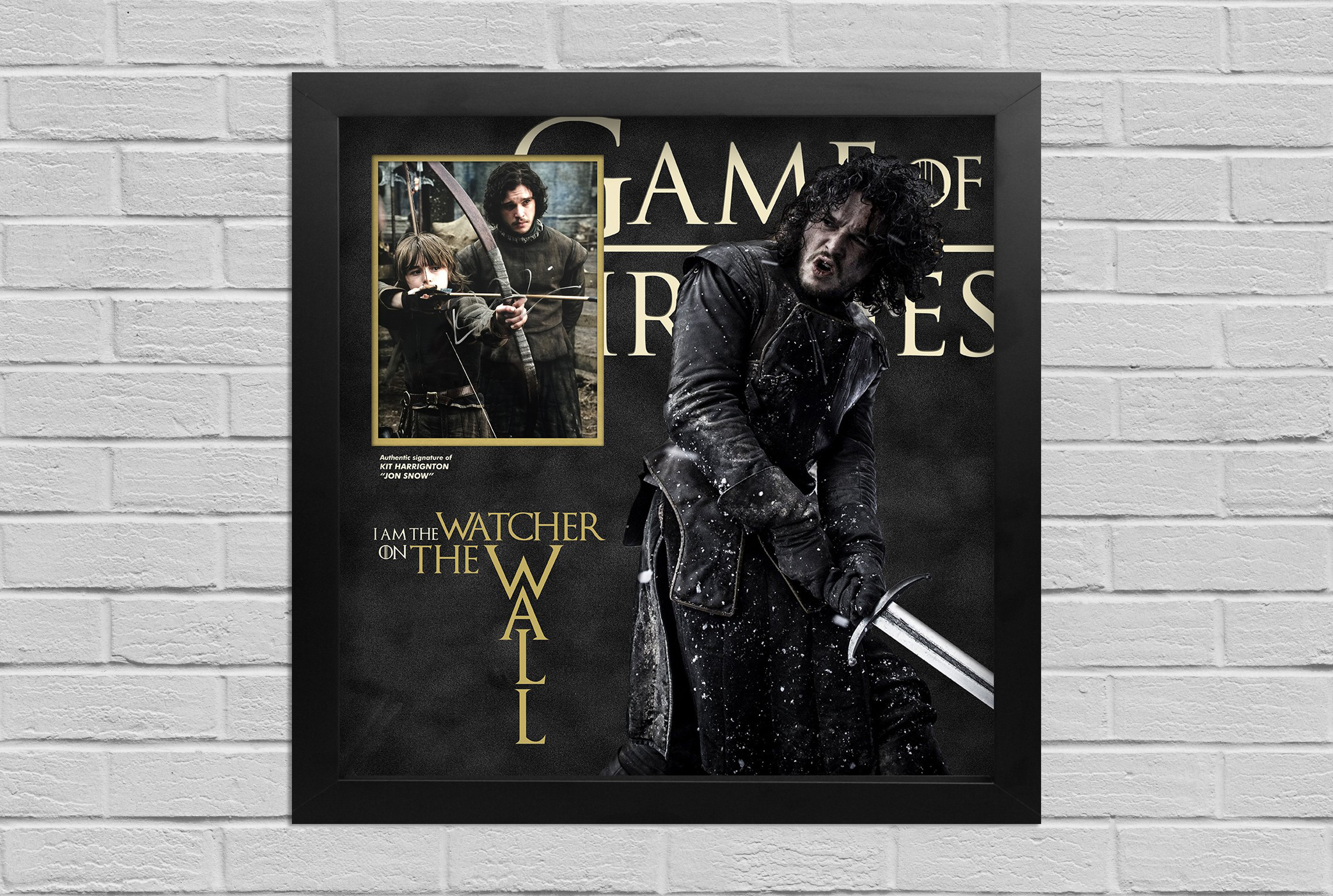 Games of Thrones Signed Display